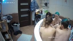 Helena Eva Deborah and Daniel bath dec 30 12 2020
