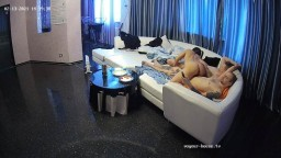 Jakar Laura hot 3some with guest guy in Living room feb 13 02 2021