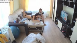Dayana naked exercise and relaxing Sep16 09 2020