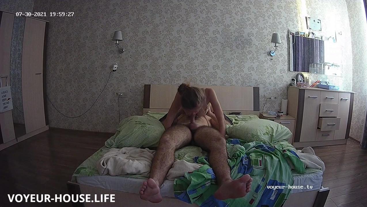 Amelie Lucas hot 69 fuck in Bedroom july 31 2021 voyeur house life