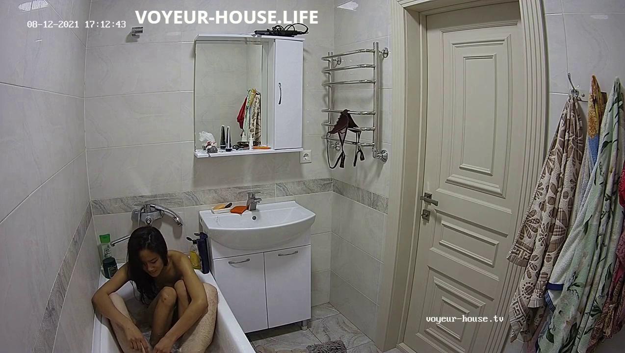 Ayako Bango friends sex bath fun 12 Aug 2021 full video go to voyeur house life