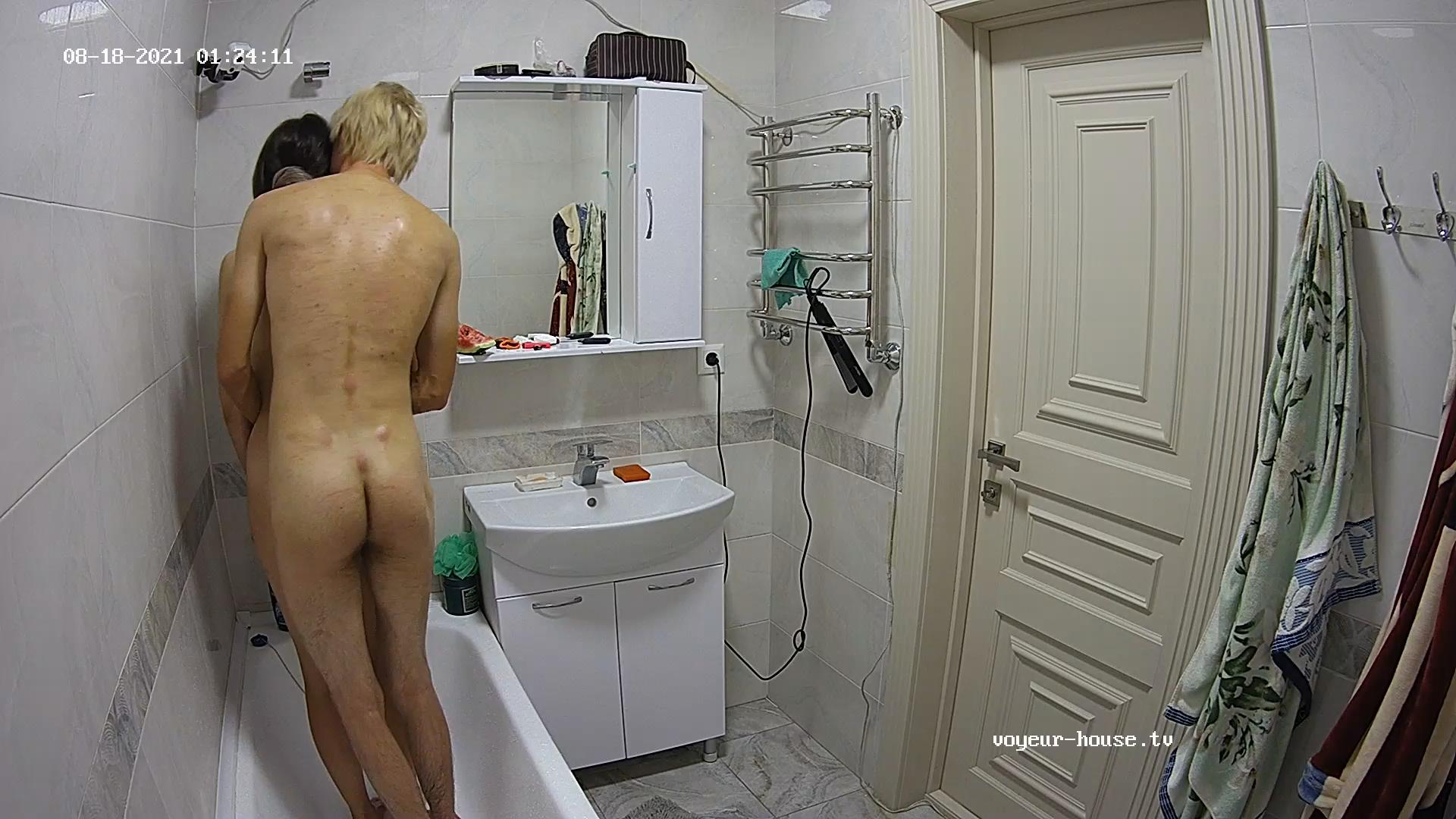 Guest Couple start sex in shower 18 Aug 2021 cam 2
