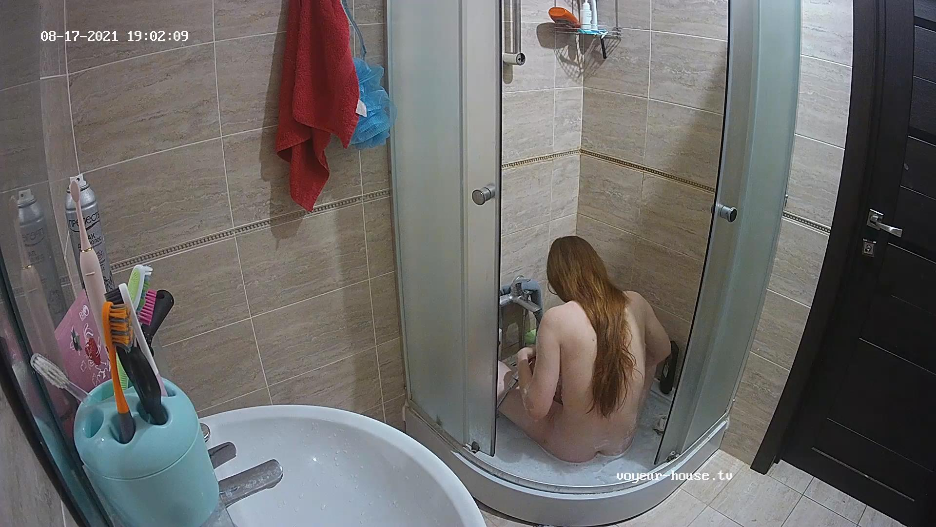 Guest girl shy shower Aug 17 2021 cam 1