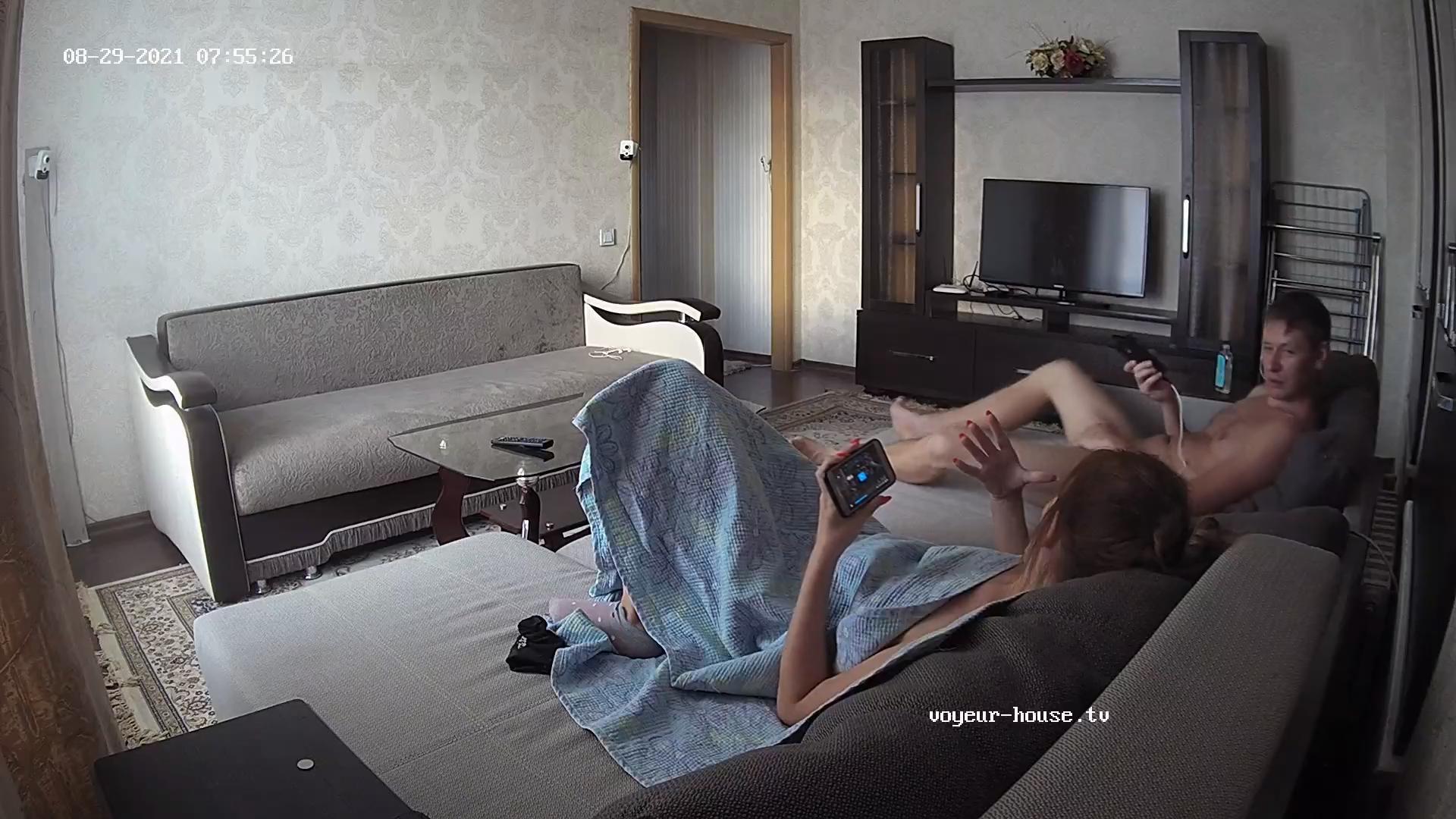 Archi jerking after sex 29 Aug 2021 cam 2