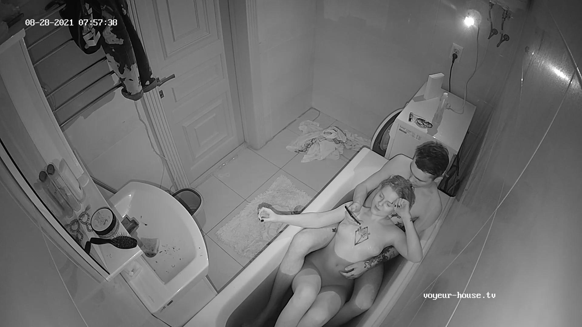 Artem Siora bath together 28 Aug 2021