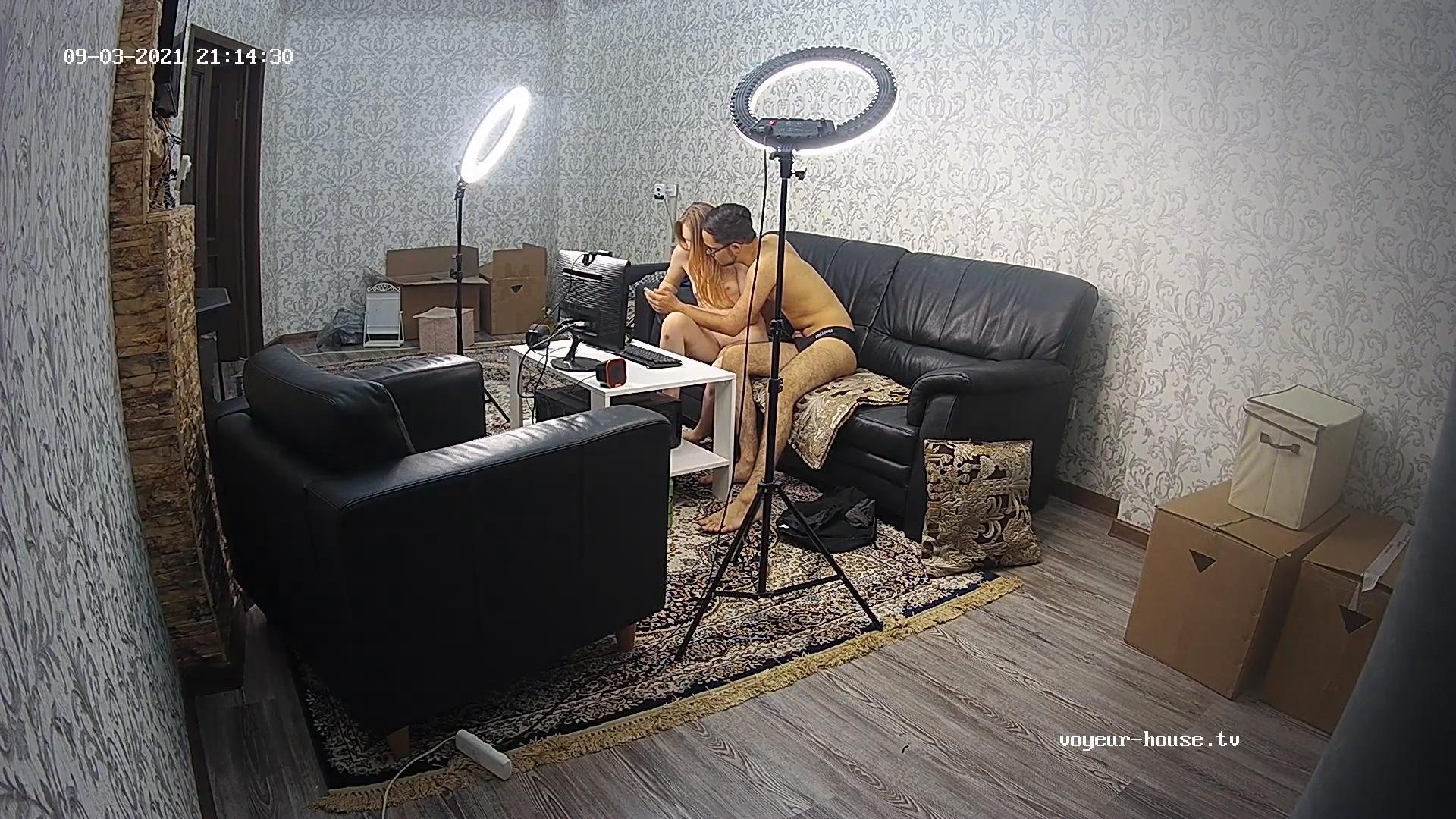 Demira Myagi sex show in Living room sep 3 2021