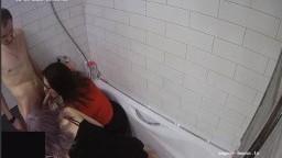 Terry Bahus and guest girl bathroom blowjob dec 09 12 2020