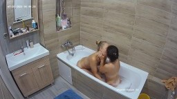 JENNIFER AND GUEST GIRL BATH FUN JUL 26 07 2020